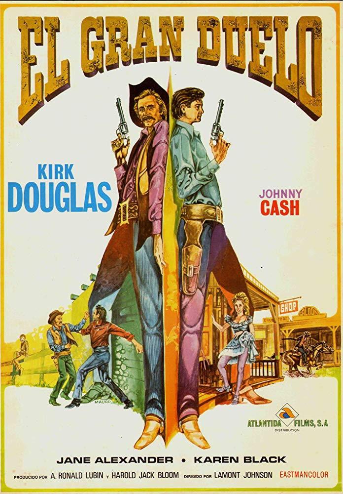 دانلود دوبله فارسی فیلم یک جدال A Gunfight 1971