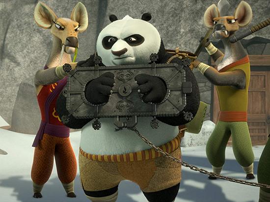 دانلود انیمیشن سریالی پاندای کونگ فو کار پنجه های سرنوشت با دوبله فارسی