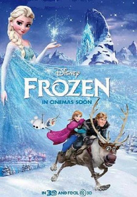 دانلود دوبله فارسی انیمیشن یخ زده Frozen 2013