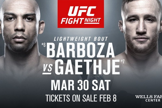 دانلود رویداد یو اف سی : UFC on ESPN 2: Barboza vs. Gaethje