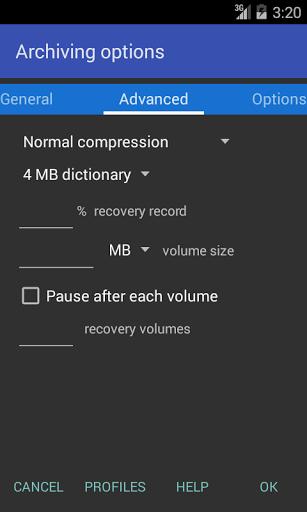 دانلود RAR 5.70 برنامه باز کردن فایل وین رار برای اندروید