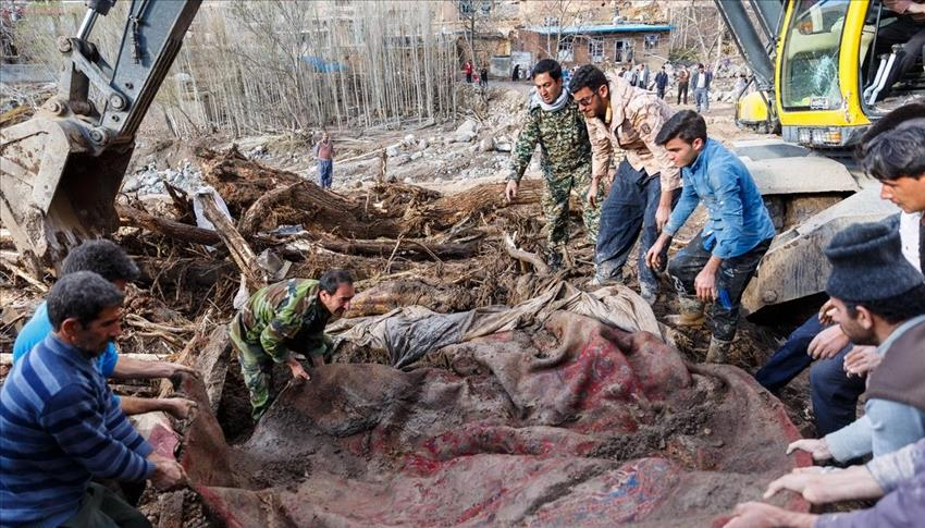 آمار جانباختگان سیلاب نوروز به ۶۳ نفر رسید
