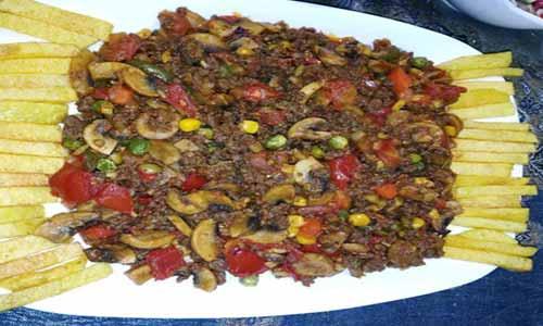 طرز تهیه خوراک سنگدان مرغ