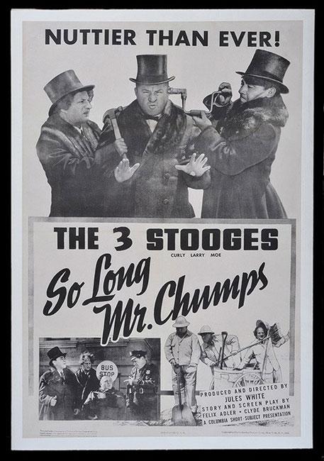 دانلود دوبله فارسی فیلم سه کله پوک (خدانگهدار کودن ها) So Long Mr. Chumps 1941