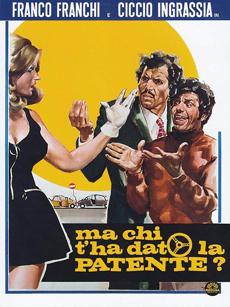 دانلود دوبله فارسی فیلم تعلیم رانندگی Ma chi t'ha dato la patente? 1970