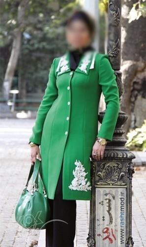 مدل مانتو پوشیده زنانه 1392