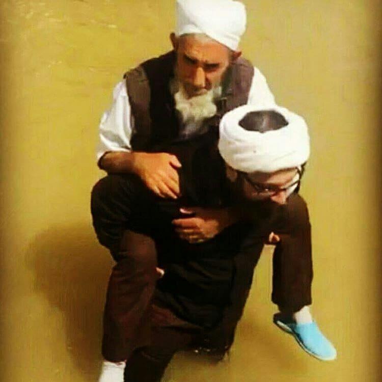 کمک یک روحانی شیعه به یک روحانی سنی