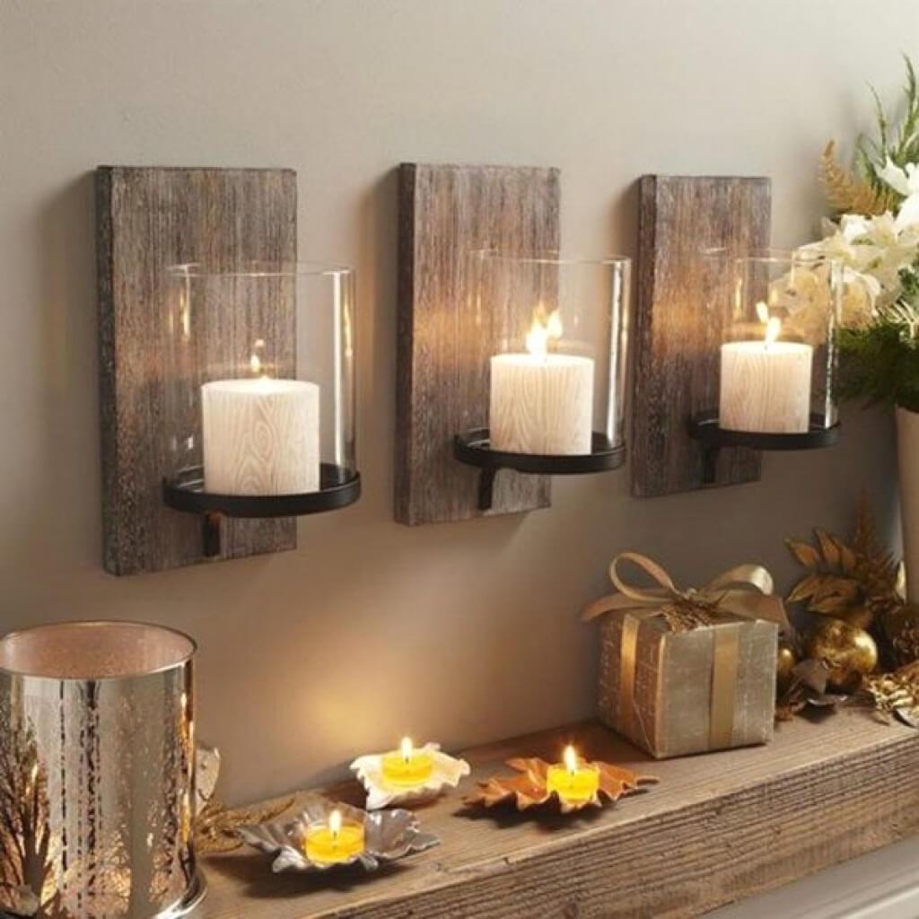 ایده شمع برای دکوراسیون خانه 2