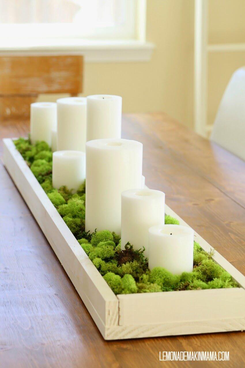 ایده شمع برای دکوراسیون داخلی