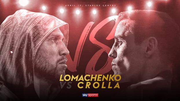 دانلود مبارزات بوکس : Vasyl Lomachenko vs Anthony Crolla