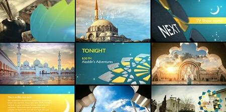 دانلود پروژه افترافکت تلویزیونی ماه رمضان شبکه Arabia tv