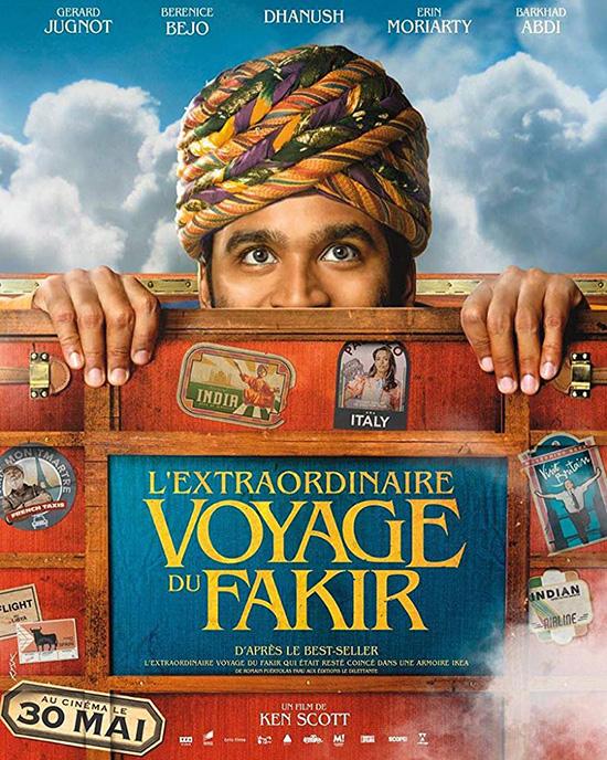 دانلود فیلم سفر فوق العاده مرتاض - The Extraordinary Journey Of Fakir 2018