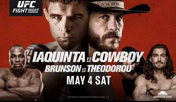 تاپیک  نتایج رویداد یو اف سی فایت نایت 151: UFC Fight Night 151: Iaquinta vs. Cowboy