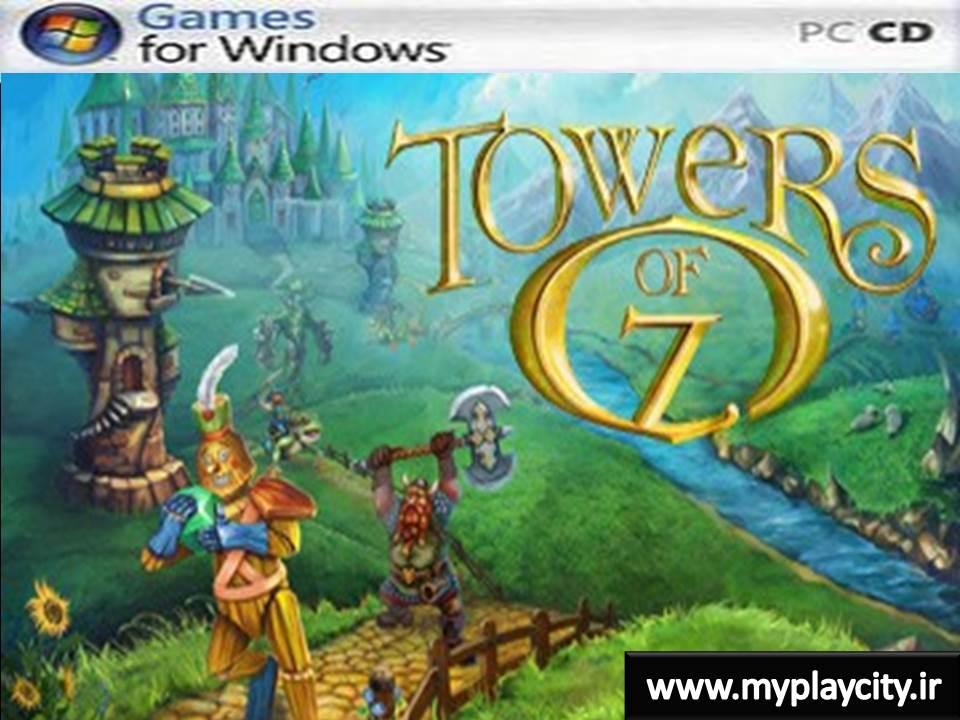 دانلود بازی کم حجم Towers of Oz برای کامپیوتر
