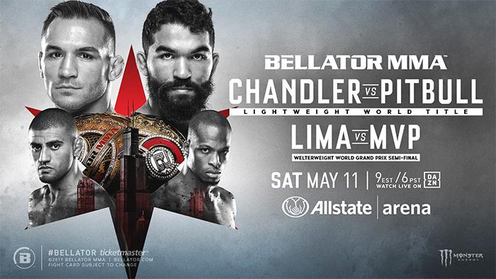 دانلود مسابقات بلاتور 221 | Bellator 221: Chandler vs. Pitbull   +تک مبارزه