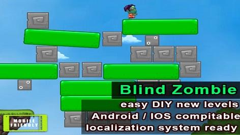 دانلود پروژه کامل یونیتی Blind Zombie