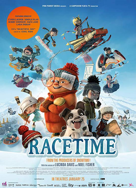دانلود انیمیشن وقت مسابقه - Racetime 2018