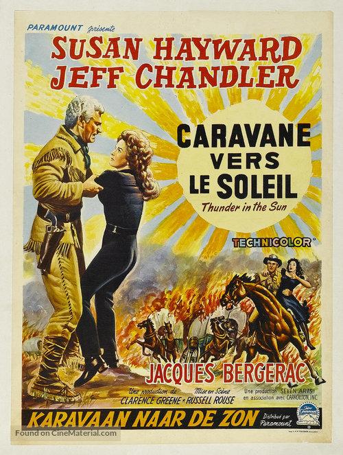 دانلود دوبله فارسی فیلم رعد در آفتاب Thunder in the Sun 1959