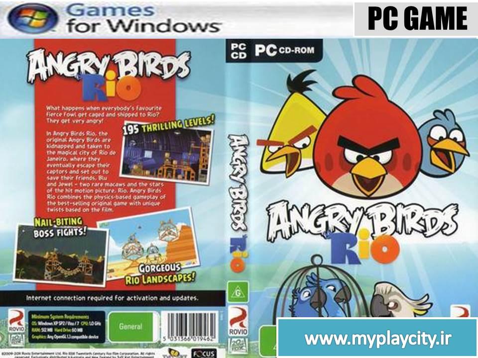 دانلود بازی AngryBirdsRio.1.4.4 برای کامپیوتر