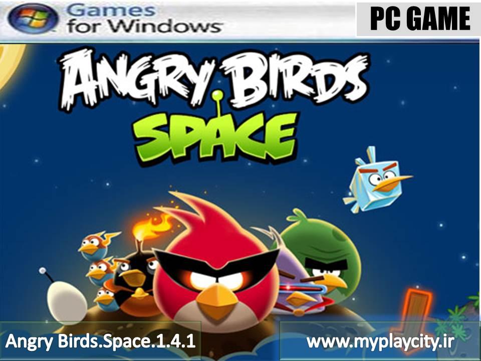 دانلود بازی Angry Birds Space 1.4.1 برای کامپیوتر