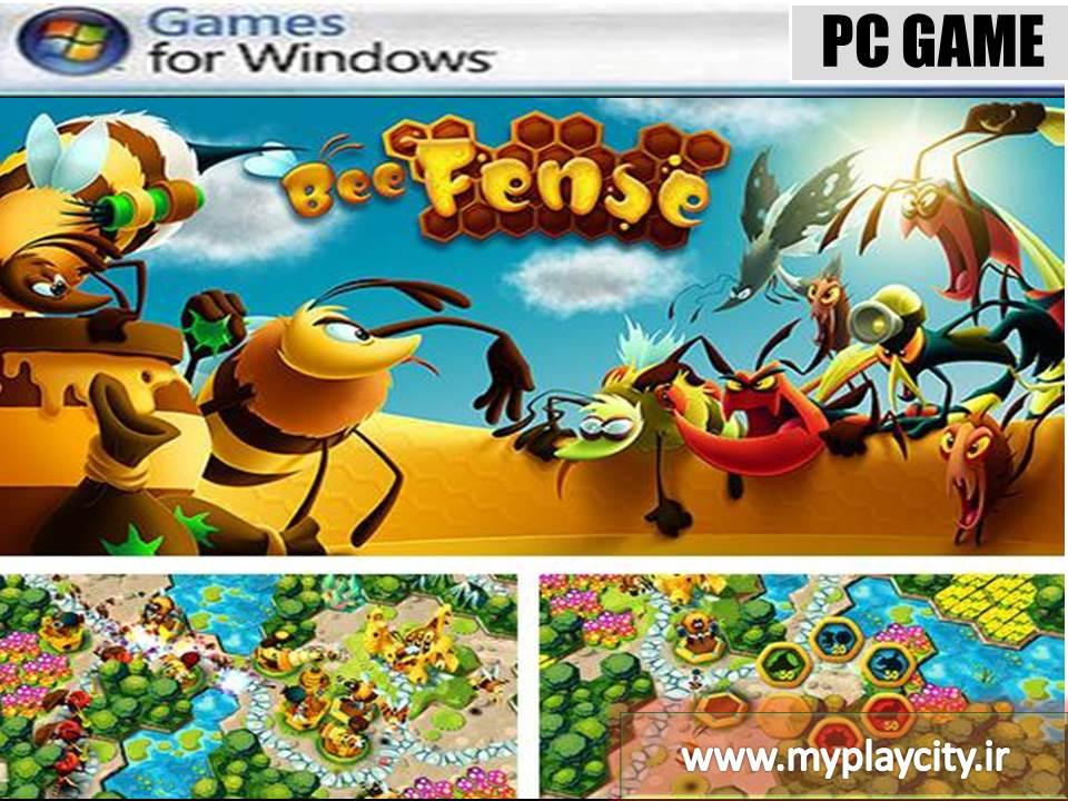 دانلود بازی BeeFense برای کامپیوتر