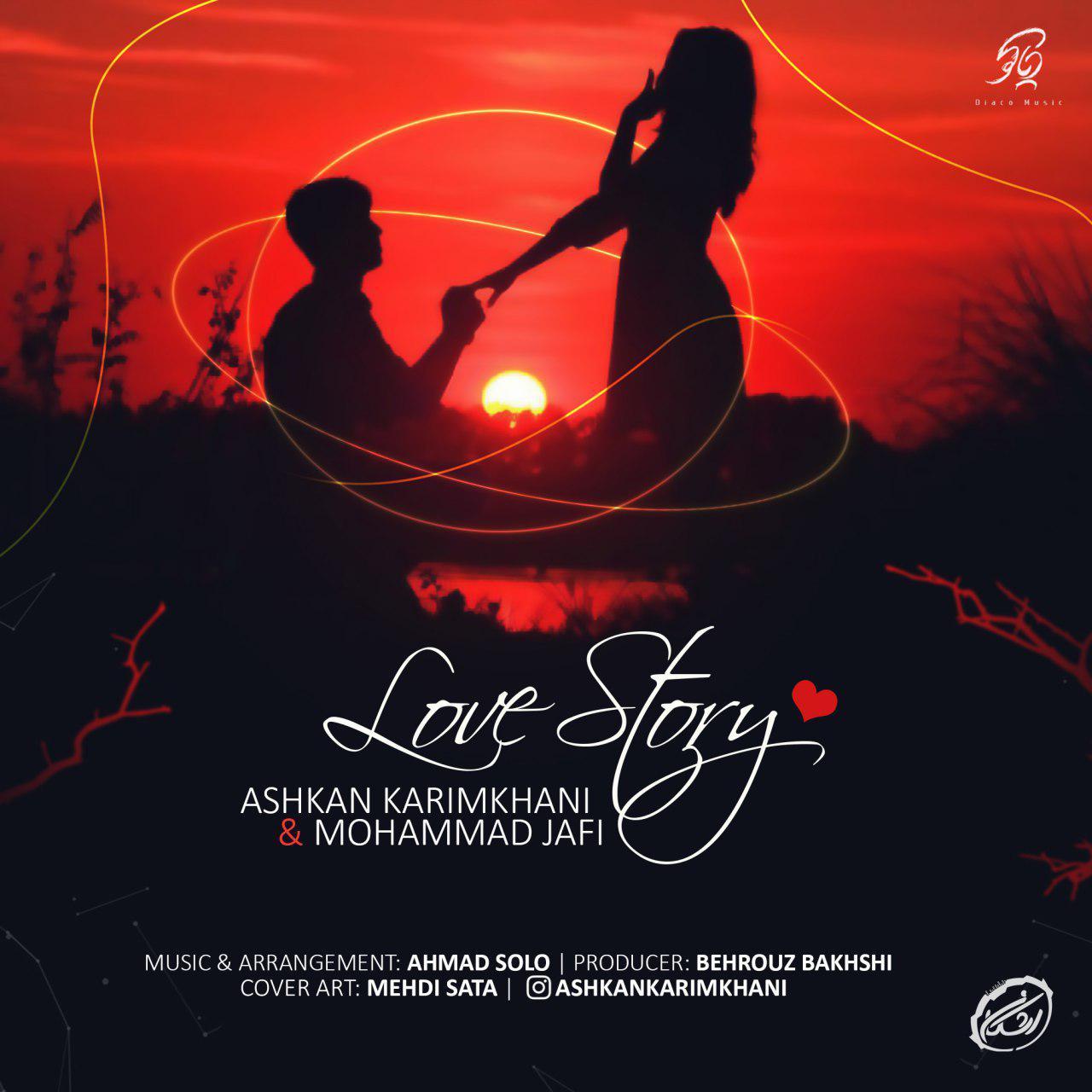 دانلود آهنگ جدید اشکان کریمخانی و محمد جافی به نام قصه عشق