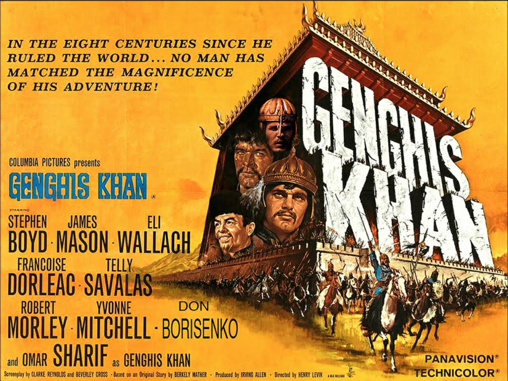 دانلود دوبله فارسی فیلم چنگیزخان Genghis Khan 1965