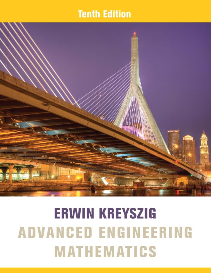 دانلود کتاب و حل المسائل ریاضیات مهندسی کریزیک pdf ویرایش 10