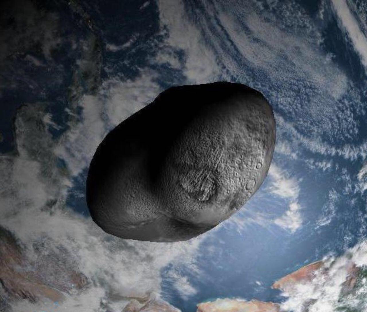 نگرانی دانشمندان از برخورد شهاب سنگ آپوفیس به زمین