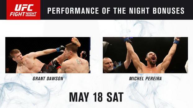 نتایج رویداد :  UFC Fight Night 152: Dos Anjos vs. Lee