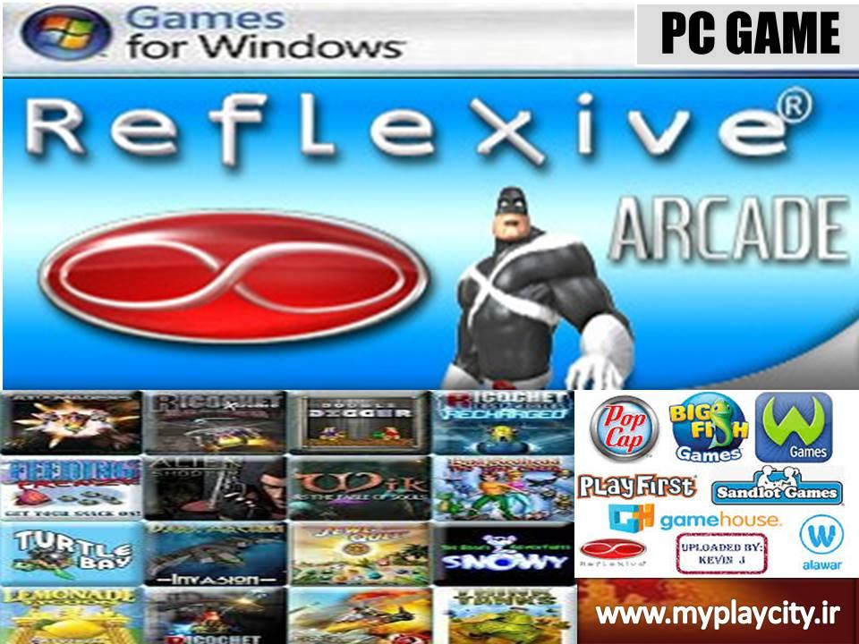 دانلود مجموعه 114 بازی reflexive games برای کامپیوتر