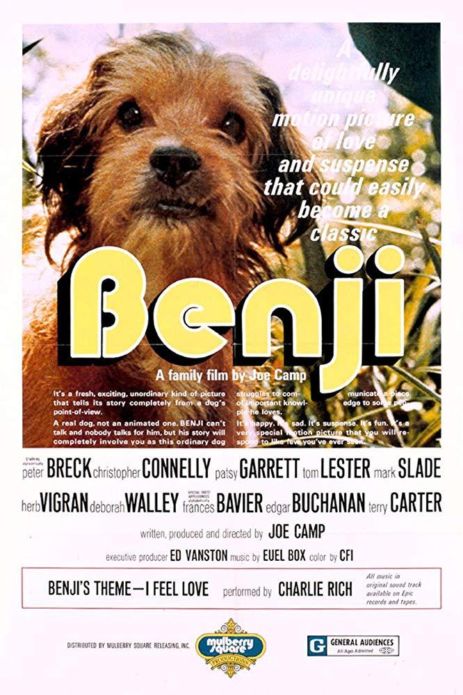 دانلود دوبله فارسی فیلم بنجی Benji 1974