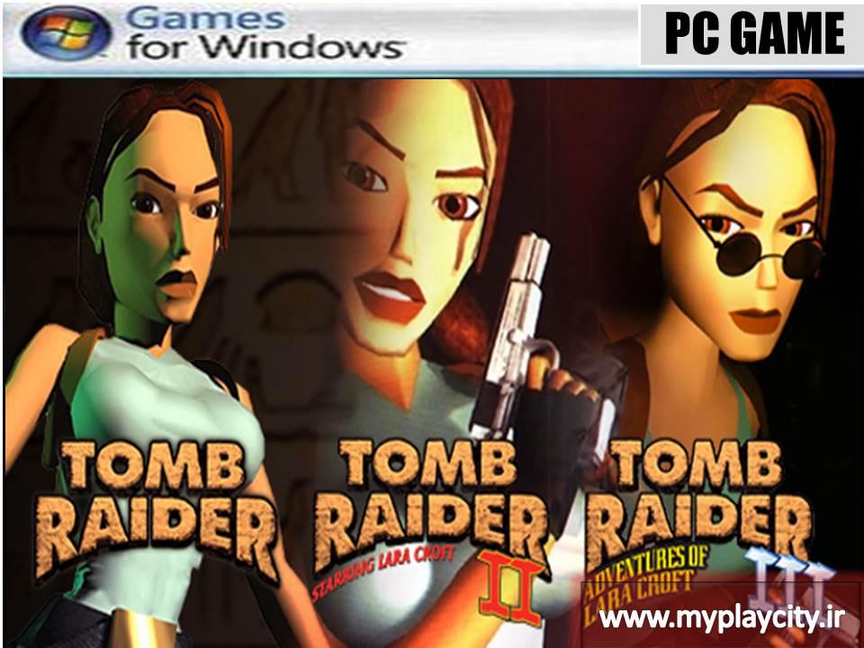 دانلود بازی Tomb Raider 1+2+3 برای کامپیوتر