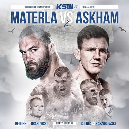 دانلود رویداد ام ام ای | KSW 49: Materla vs. Askham 2+تک مبارزه