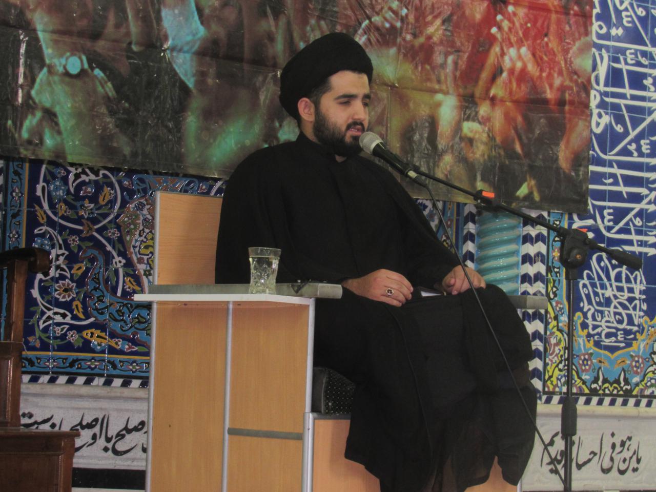 مراسم شب احیاء نوزدهم ماه رمضان در حرم امامزاده سیدجلال الدین اشرف