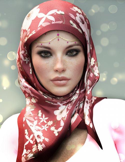دانلود پروژه اماده 3d :  حجاب بسبک فشن