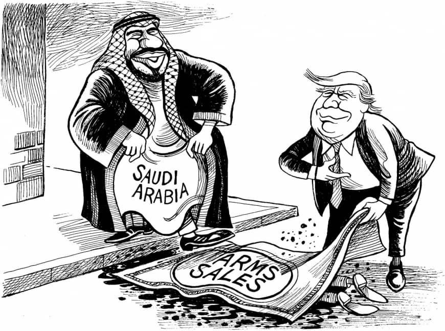 رابطه استعمار نوین با تحرکات نظامی آمریکا و علت تحرکات + کاریکاتور