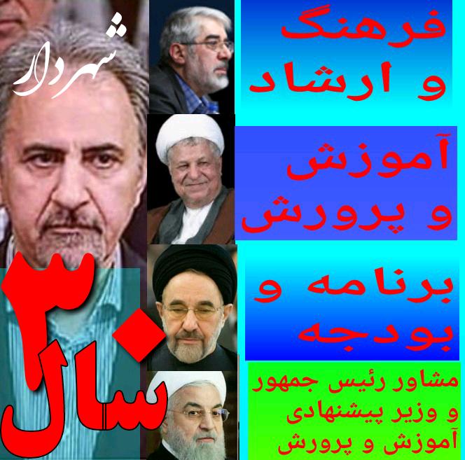 شهردار قاتل محمدعلی نجفی وزیر موسوی هاشمی خاتمی و روحانی همسر دهه شصتی خود را کشت