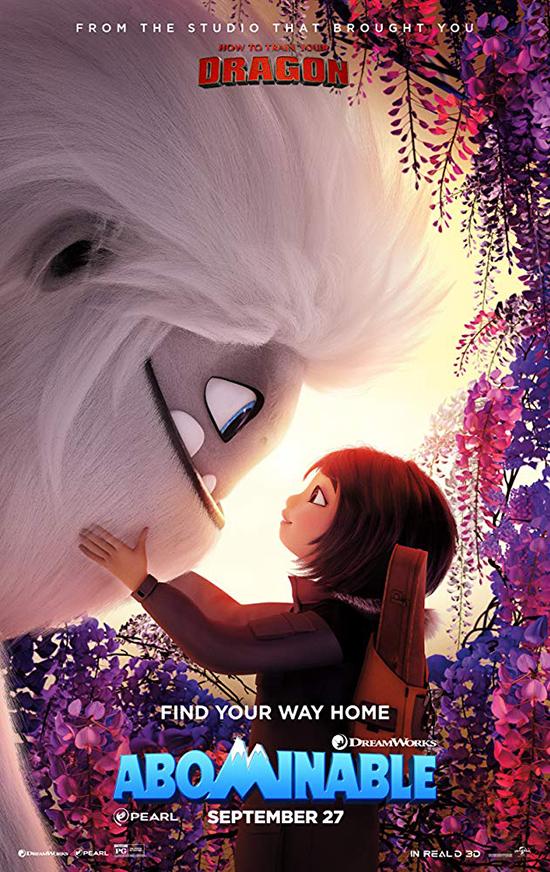 دانلود انیمیشن زشت - Abominable 2019