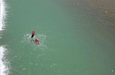 غرق شدن جوانی در رودخانه سپیدرود