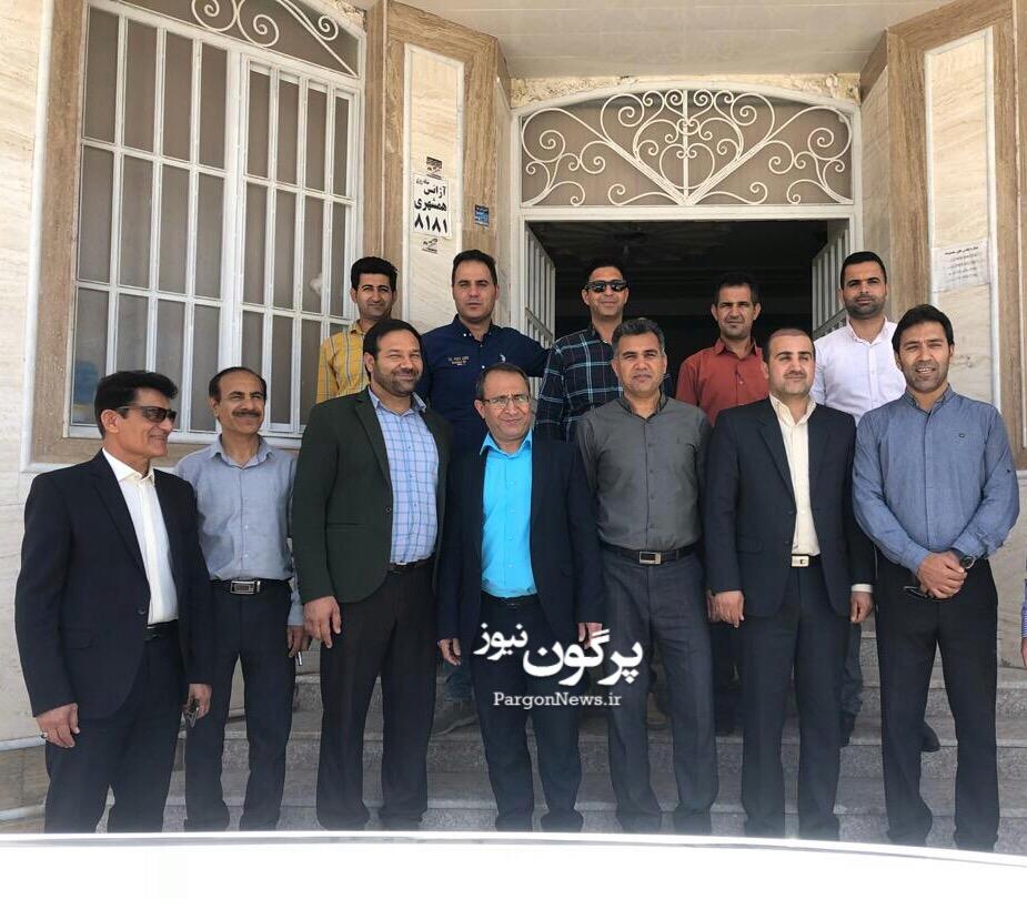 دیدار اعضای شورا و شهردار قیر با اعضای اتاق اصناف