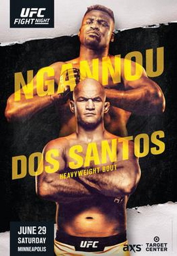 نتایج رویداد :  UFC on ESPN 3 : Ngannou vs. dos Santos