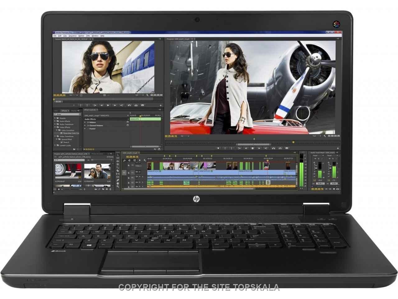 اچ پی / لپ تاپ استوک اچ پی مدل HP ZBOOK 17 G2 - i7 4710MQ