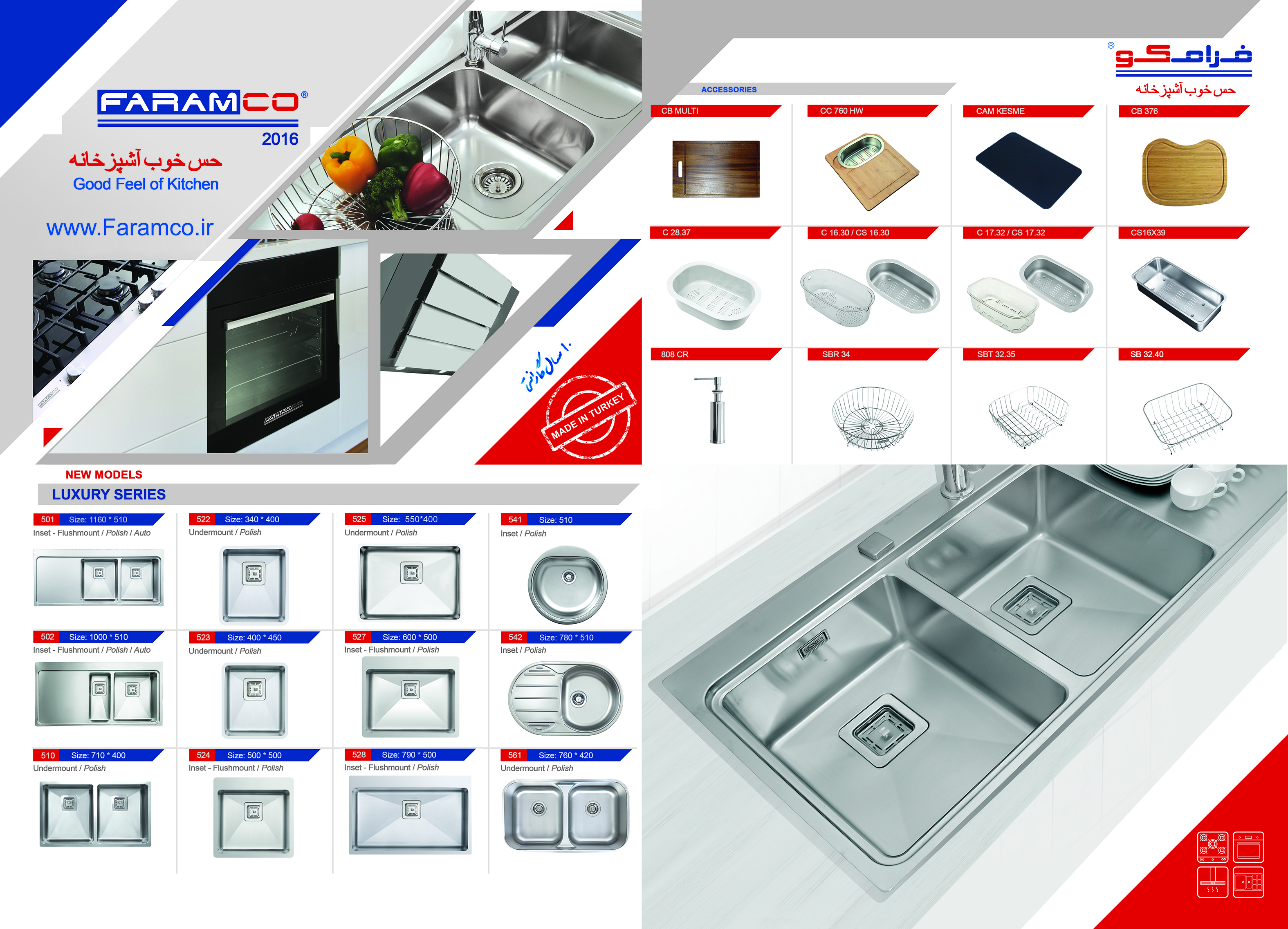 کاتالوگ محصولات فرامکو