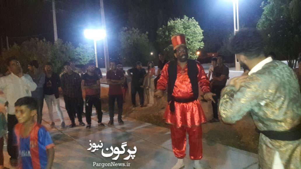 اجرای تئاتر خیابانی در سرآسیاب بمناسبت هفته مبارزه با مواد مخدر