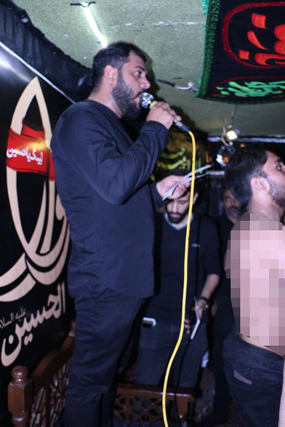 مداحی کربلائی سیدجعفر سیدصالحی ششمین سالگرد شهادت شهیددولت آبادی