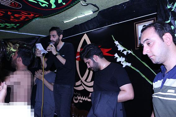 مداحی در مراسم ششمین سالگرد شهادت شهیددولت آبادی