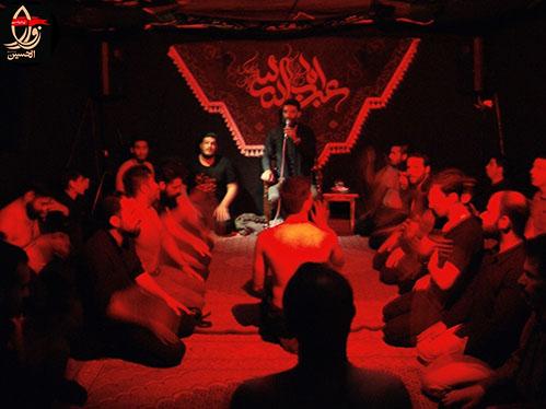 مداحی کربلائی بابک سجادی در مراسم هفتمین سالگرد شهادت شهید محمد علی دولت آبادی