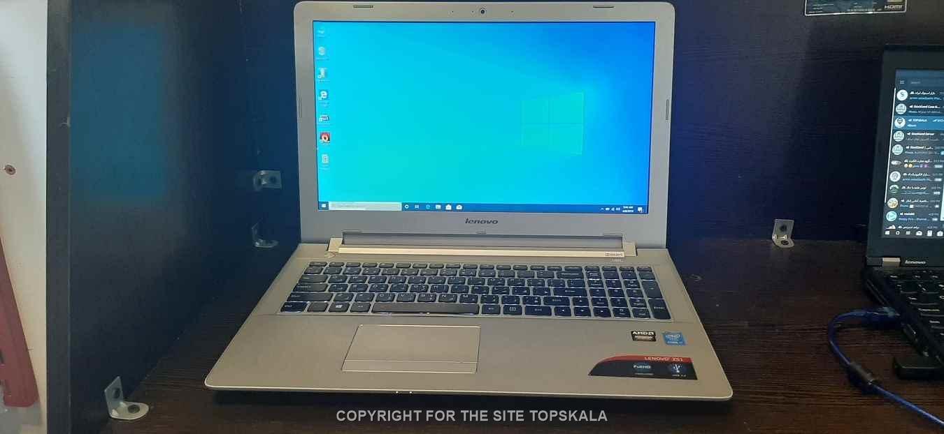 لپ تاپ استوک لنوو مدل LENOVO ideapad Z51-70 با مشخصات i7-8GB-1TB-HDD-4GB-AMD-Radeon-R9