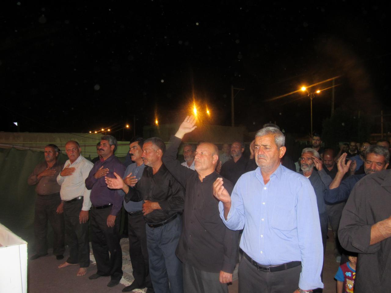 مراسم شب شهادت آقا امام صادق علیه السلام در محله صادقیون